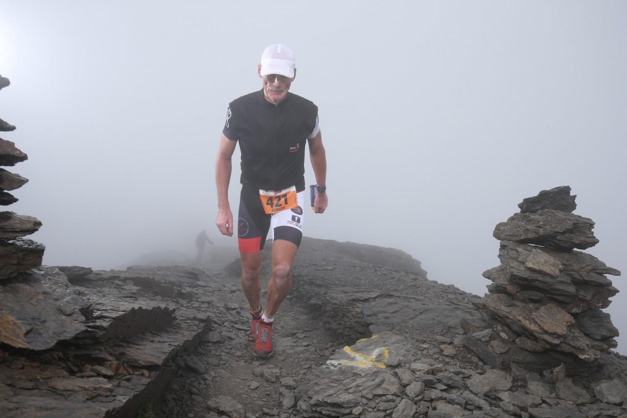 800 Höhenmeter – der Berglauf hat seinen Namen verdient