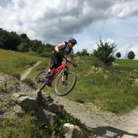 Haardbiker in Winterberg